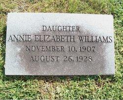 Anne Elizabeth Williams