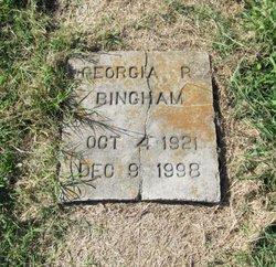 Georgia R. Bingham