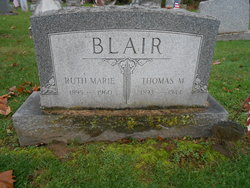 Ruth Marie <I>Oviett</I> Blair