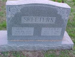 Marie LaDean <I>Plank</I> Skeeters