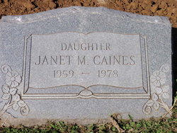 Janet M. Caines