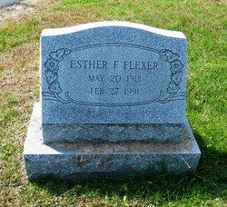 Esther F. Flexer