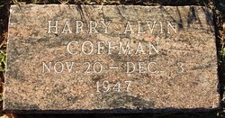 Harry Alvin Coffman