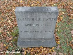 Elizabeth <I>Lee</I> Bentley