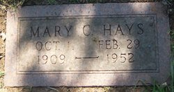 Mary Carpenter Hays