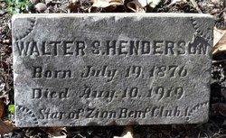 Walter S. Henderson
