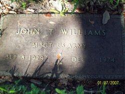 John T Williams