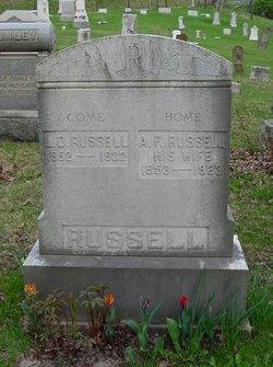 Adelaide Florinda <I>Tapp</I> Russell