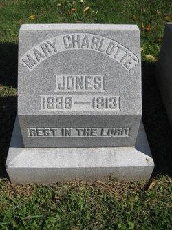 Mary Charlotte <I>Ellis</I> Jones