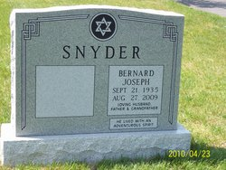 Bernard Joseph Snyder