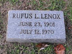 Rufus L. Lenox
