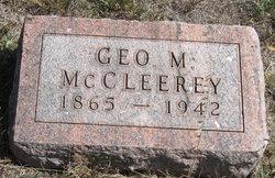 George Munro McCleerey