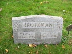 Bertha M. Brotzman