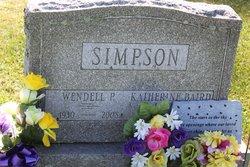 Wendell P Simpson