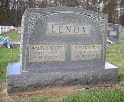 Susan <I>Dodd</I> Lenox