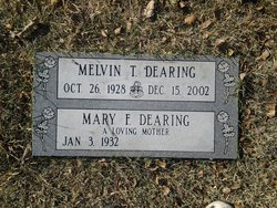 Melvin T Dearing