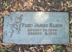 Fred James Klein
