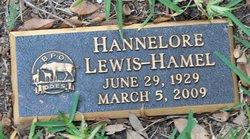 Hannelore <I>Lewis</I> Hamel