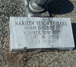 Marilyn Yevonne Hand
