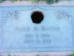 Alice <I>Moore</I> Martin