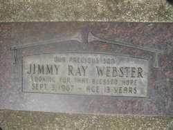Jimmy Ray Webster