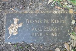 Bessie M. Klein