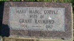Mary Mable <I>Copple</I> Raymond