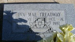 Iva Mae <I>Cagle</I> Treadway