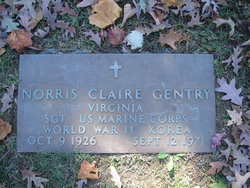 "Norris Claire ""Buddy"" Gentry, Jr"
