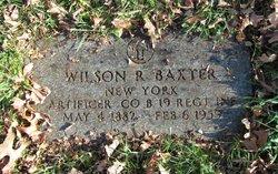Wilson Richard Baxter