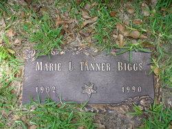 """Marie Louise """"Aunt B"""" <I>Tanner</I> Biggs"""
