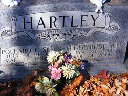 Gertrude M Hartley