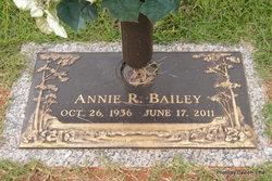 Annie R <I>Lawson</I> Bailey
