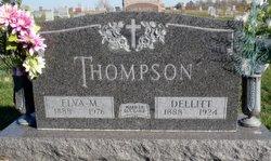 Elva M. <I>Atwood</I> Thompson