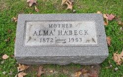 Alma Louise <I>Weber</I> Habeck