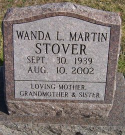 Wanda L. <I>Martin</I> Stover