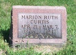 Marian Ruth <I>Shepherd</I> Curtis
