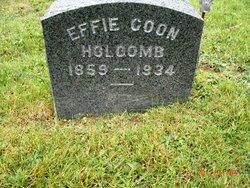 Effie Dell <I>Knapp</I> Coon Holcomb