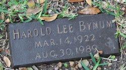 Harold Lee Bynum