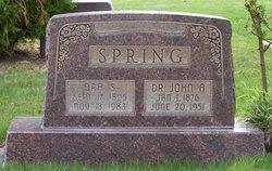 John A Spring