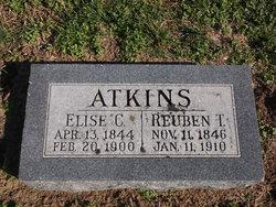Elise Augustine Charlotte <I>Gaussoin</I> Atkins