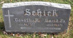 David Schick, Jr