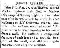 John R Leffler