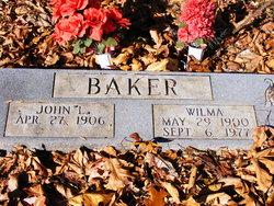 Ella Wilma <I>Caldwell</I> Baker