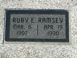 Ruby E <I>Kent</I> Ramsey