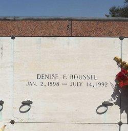 Denise <I>Fabre</I> Roussel