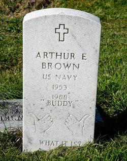 """Arthur E. """"Buddy"""" Brown"""
