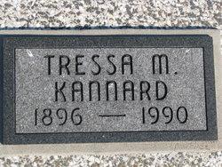 Tressa M <I>Cordon</I> Kannard