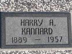 Harry A Kannard