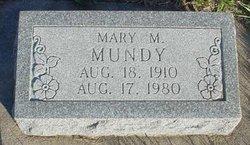 Mary M. Mundy